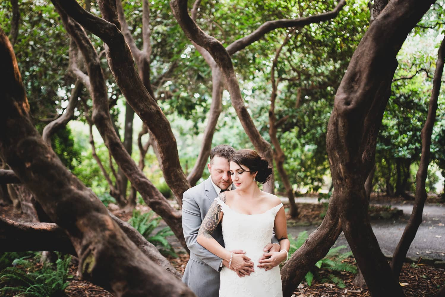 Kyle Carnes Photography Leach Botanical Gardens Wedding