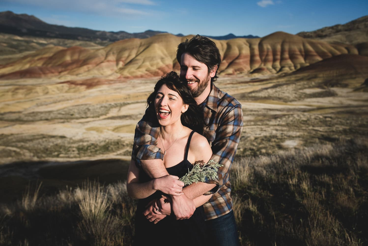 Kyle Carnes Photography Painted Hills Eastern Oregon Engagement