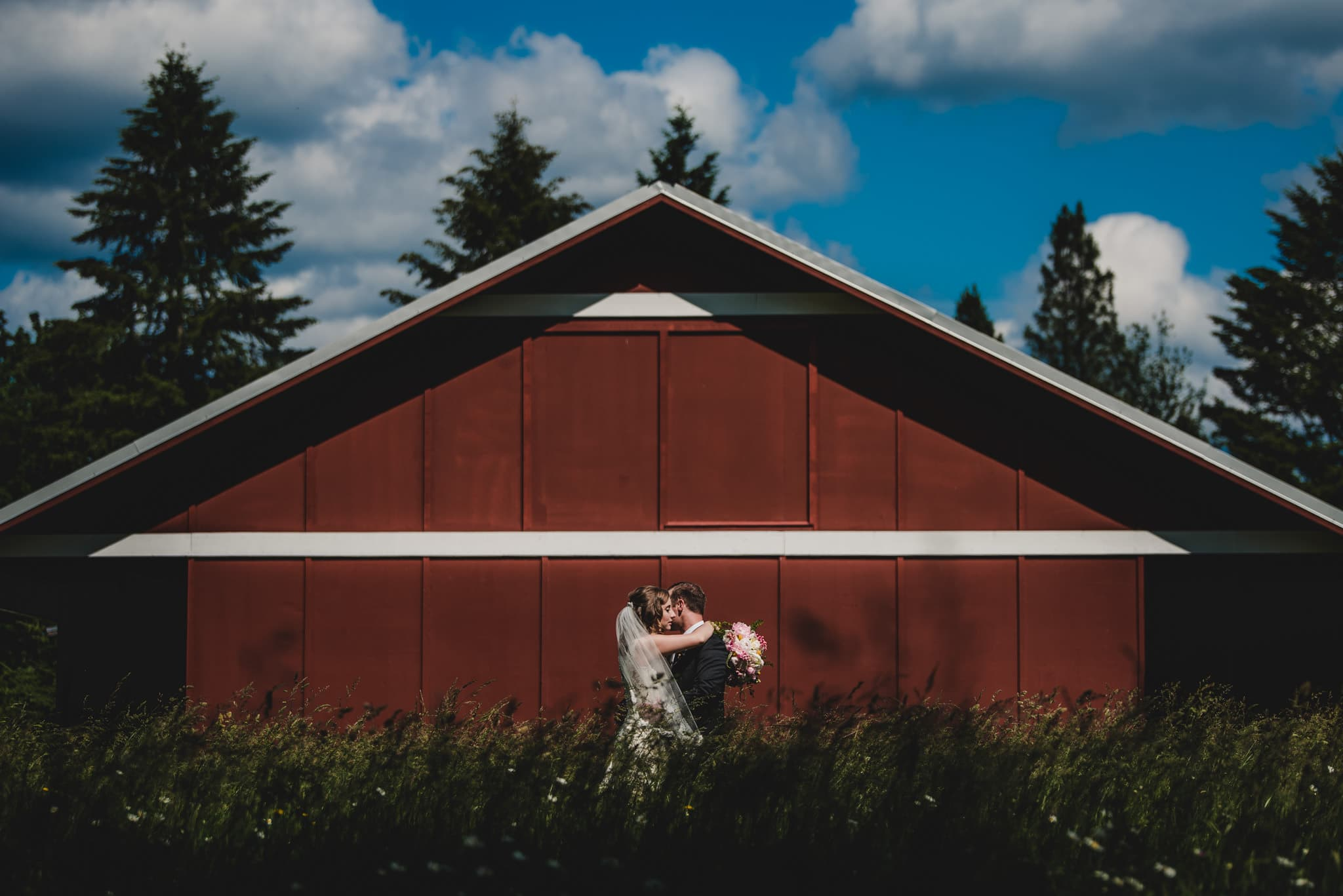 Outdoor Adventure Barn Wedding Photography