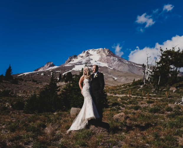 Wedding photography at Timberline Lodge on Mt Hood