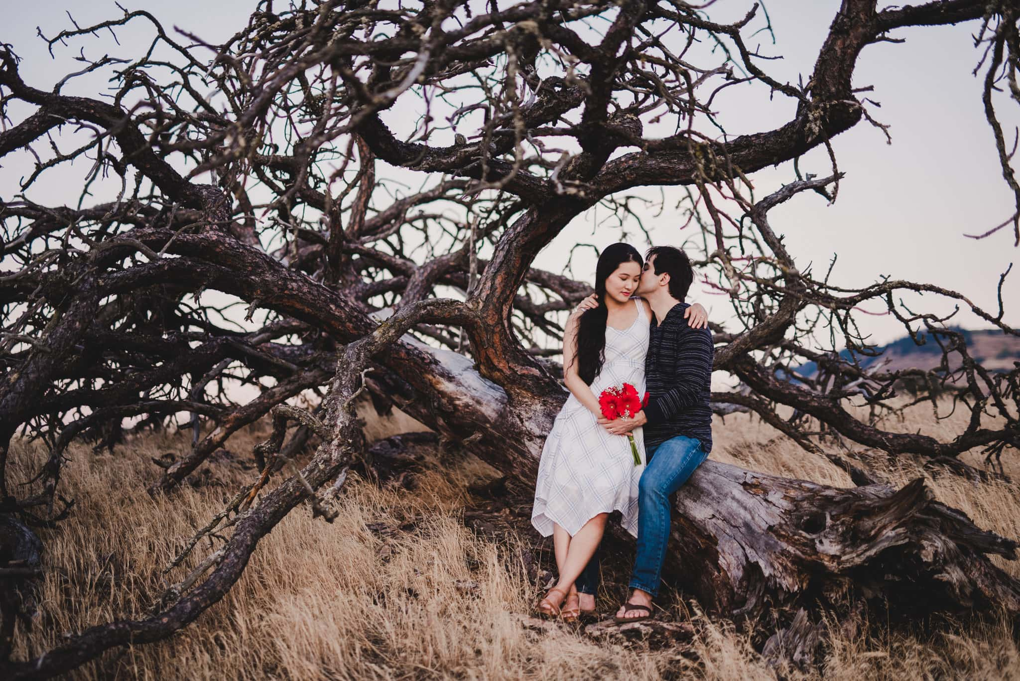 Rowena Crest Engagement Session Photography
