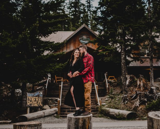 Lost Lake Resort Campground Engagement Photographer