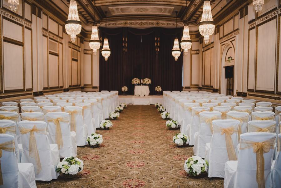 Benson Hotel Wedding Portland Oregon Photography 055