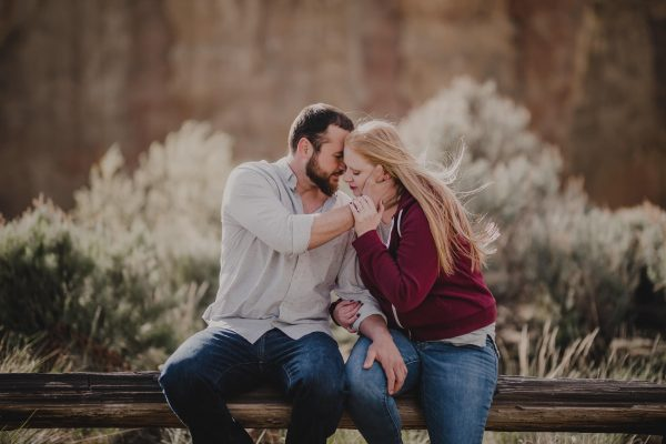Smith Rock Engagement Session Photography