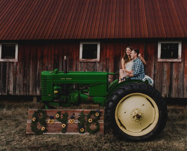 Woodlawn Washington Family Farm Engagement Session